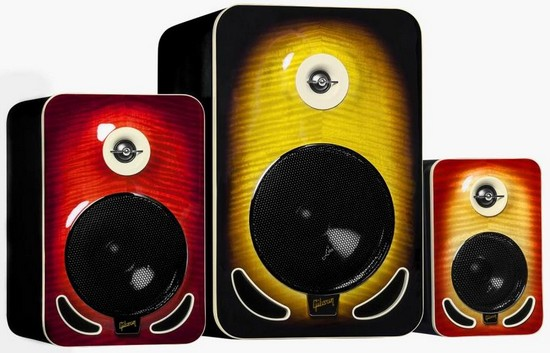 Gibson Les Paul Reference Monitors Family.JPG