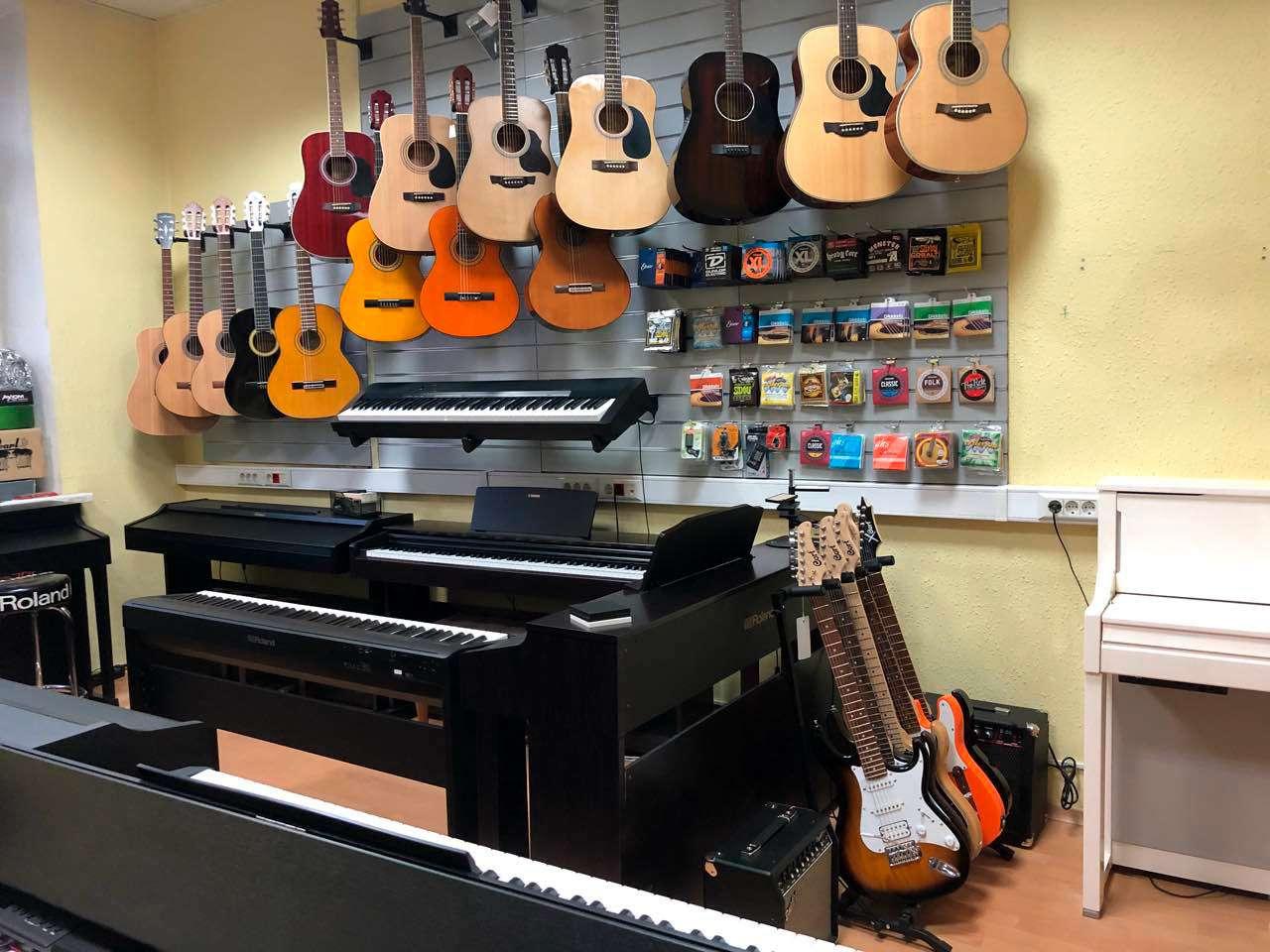 магазины музыкальных инструментов в брянске адреса