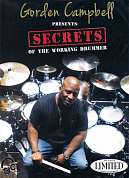 HL00114496 - CAMPBELL GORDEN SECRETS OF THE WORKING DRUMMER DRUMS DV