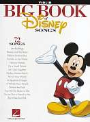 HL00842620 - THE BIG BOOK OF DISNEY SONGS INSTRUMENTAL FOLIO VIOLIN B