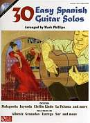 HL02501147 - 30 EASY SPANISH GUITAR SOLOS GTR BOOK