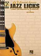 HLE00695433 - 101 MUST KNOW JAZZ LICKS TAB BOOK