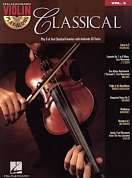 HL00842154 - VIOLIN PLAY-ALONG VOLUME 3 CLASSICAL VLN BOOK