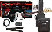 SQUIER AFFINITY JAZZ BASS&RUMBLE 15 AMP